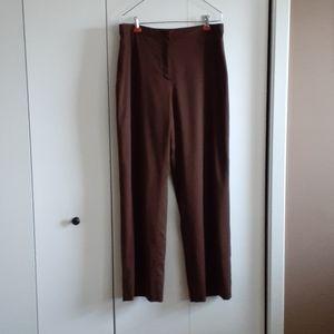 St. John Collection wool pants trouser dress